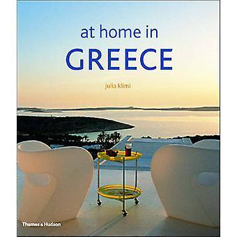 À la maison en Grèce de Julia Klimi - 9780500511657 livre