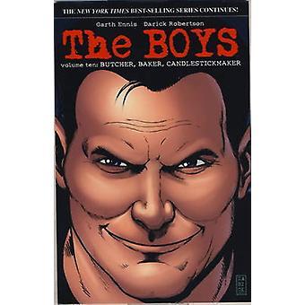 The Boys - v. 10 - Butcher - Baker - Candlestick Maker by Garth Ennis -
