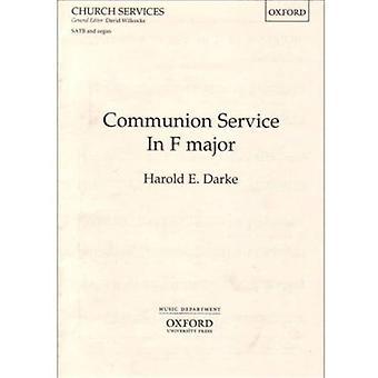 Service de la communion en f: chant, piano