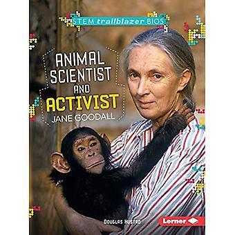 Dyr forsker og aktivist Jane Goodall (Stem banebrytende Bios)