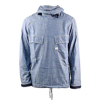 G-Star Chambray PW LT WT Blue Lockstart Chambray Rinsed Hoodie