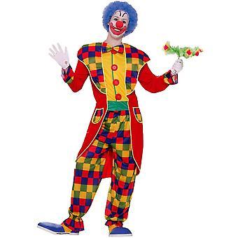 Prestige Clown Adult Costume