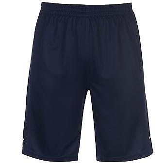 Kappa Mens trein Bermuda Shorts Poly broek broek bodems lichtgewicht Mesh