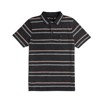 Camisa pólo de Lyfer animal no preto