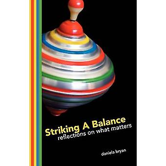 Striking A Balance Reflections on What Matters by Bryan & Daniela S