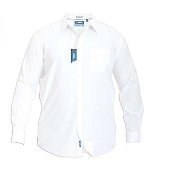 Hertug Herre Aiden Kingsize-lang ærme Classic regelmæssig skjorte