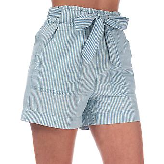 Womens Vero Moda Emily Chambray shorts en denim bleu clair