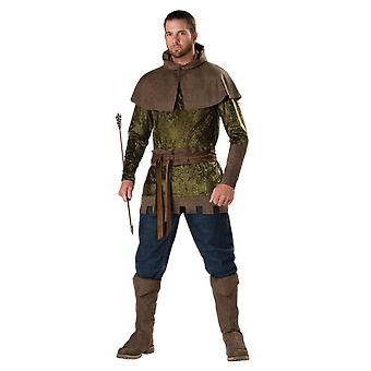 Mens Robin Hood Film TV History Fancy Dress Costume
