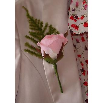 Artificial Silk Rose Corsage