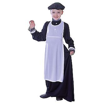 Bristol Novelty Girls Victorian Apron Costume Accessory