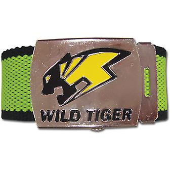 Belt - Tiger & Bunny - New Wild Tiger Logo Fabric Anime Gifts Licensed ge14000