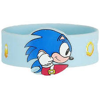 Wristband Sonic the Hedgehog Spin Bue PVC Bracelet New Toy wb-sh-spin