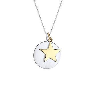 Elli sølv anheng halskjede 0101341518_45