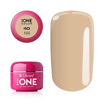 Base one-Color-Silky nude 5g UV gel
