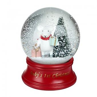 Heaven Sends Baby's First Christmas Snowglobe | Handpicked Gifts