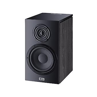 Heco Aurora 300, bokhandel høyttaler, 2-veis bass refleks, svart, 1 par