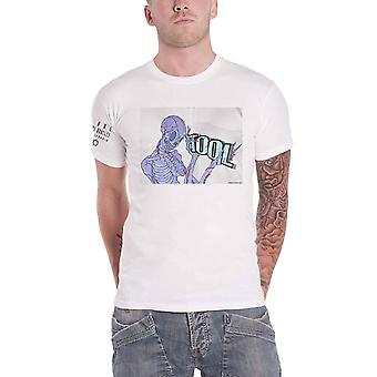 Tool T Shirt Skeleton Band Logo new Official Mens White