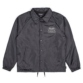 Brixton Dale Windbreaker Jacket Black