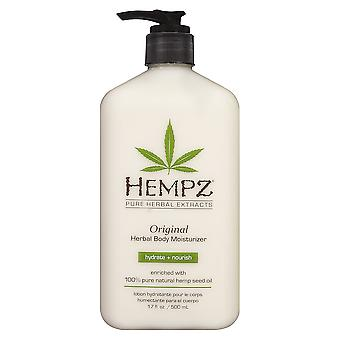 Hempz Original Salon Herbal Hydrating Body Moisturiser Skin Lotion - 500ml