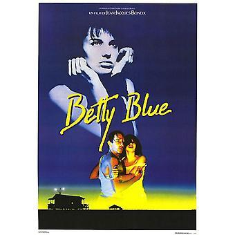 Betty Blau (Nachdruck) Nachdruck Poster