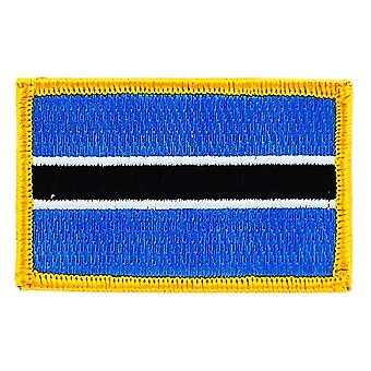 التصحيح Ecusson Brode العلم بوتسوانا إينسيجنفلاج ثيرموكولانت Blason