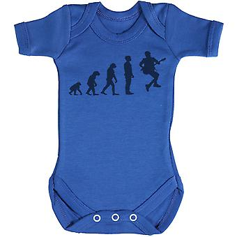 Evolution To A RockStar Guitarist - Baby Bodysuit