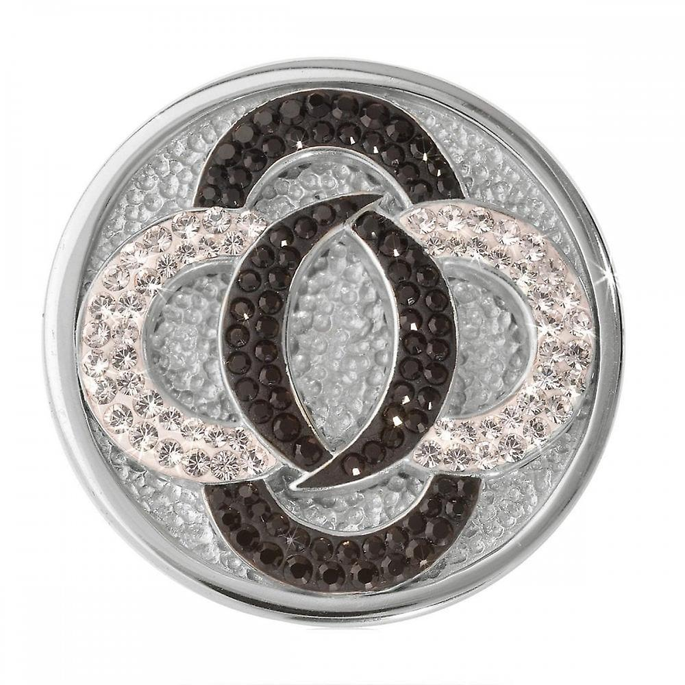 Nikki Lissoni Black Vs White Medium Silver Coin C1030SM