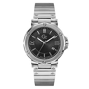 GC Y61002G2MF Spirit Man's Silver Tone Wristwatch