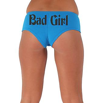 Kvinder ' s sjove booty shorts dårlig pige gotisk sort Fed stil type