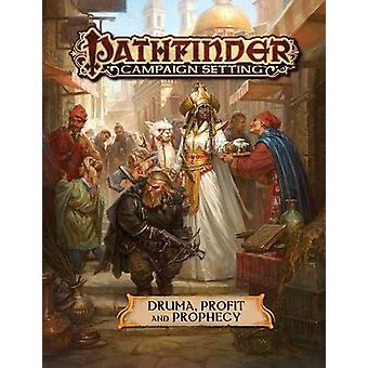 Druma: Profit and Prophecy: Pathfinder Campaign Setting - Gaming Book
