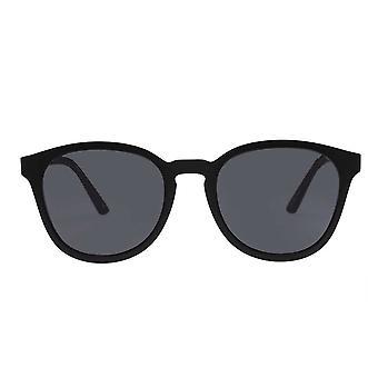 Le Specs Renegade Matte Czarne okulary przeciwsłoneczne