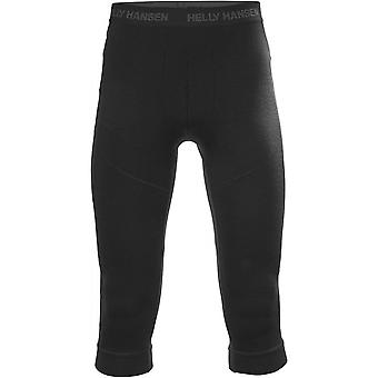 Helly Hansen Women's Lifa Merino 3/4 Boot Pant - Black