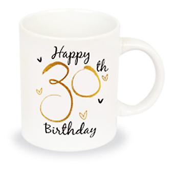 Simply Gifts Foiled Unisex 30th Birthday Mug