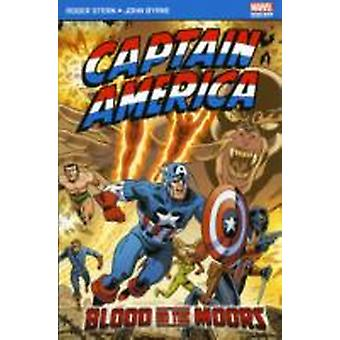 Captain America Blood on the Moors by Roger Stern & Illustrated by Byrne John