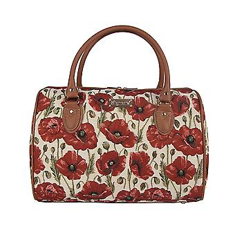 Poppy weekend travel bag by signare tapestry / trav-pop