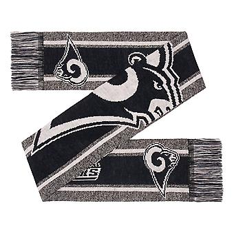 FOCO NFL Winter Scarf - GREY BIG LOGO Los Angeles Rams