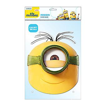 Minion Au Natural Official Minions Card Party Fancy Dress Mask