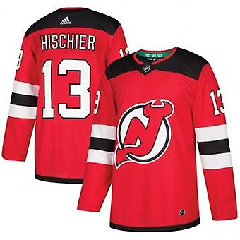 Nico Hischier #13 New Jersey Devils Authentic Pro NHL Trikot