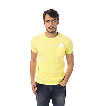 Yellow shirt yellow Bagutta men