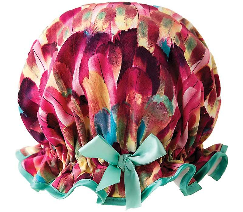 Fancy Feathers Shower Cap