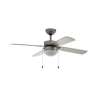 """Ceiling fan Gelsina with lighting 107cm / 42"""""""