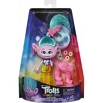 Trolls World Tour Glam Satin Deluxe Fashion Doll