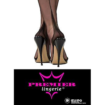Premier Lingerie Fully Fashioned Point Heel Stockings (PLffp)