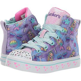 Skechers Kids' TWI-Lites-Mermaid Party Sneaker
