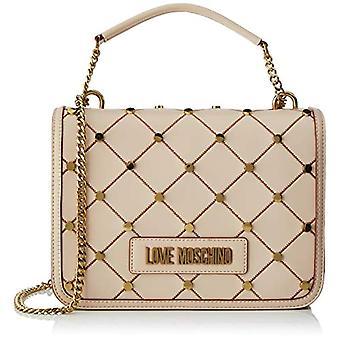 Kjærlighet Moschino Jc4094pp1st Kvinner Beige Crossbag Bag (Naturlig) 9x19x26 cm (B x H x L)