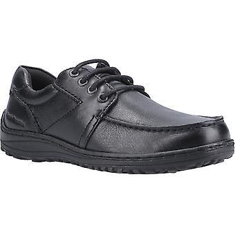 هش الجراء الرجال ثيو تنفس موكاسين أحذية جلدية