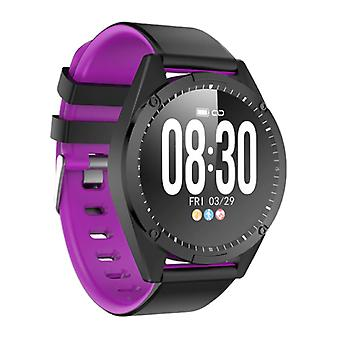 Lige Sports Smartwatch Fitness Sport Activity Tracker Smartphone Watch iOS Android iPhone Samsung Huawei Purple