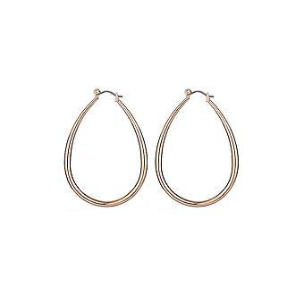 Gold Waterdrop Design Earrings