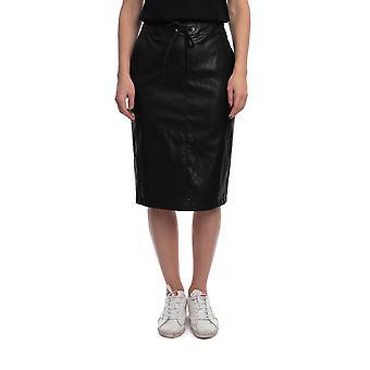 Pinko 1g14uc7866z99 Women's Black Viscose Skirt