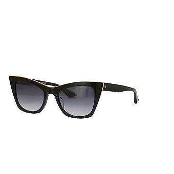 Dita Showgoer DTS513 01 Black Swirl-Yellow Gold/Dark Grey Gradient Sunglasses
